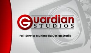 Guardian Studios Business Card Design Back