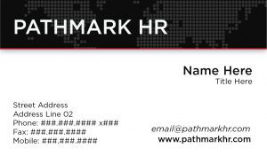 Pathmark Business Card Front